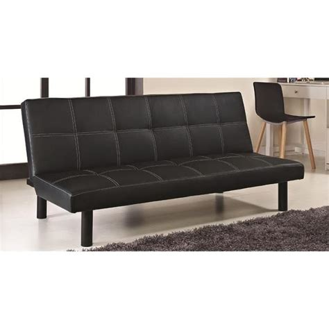 clic clac noir design en simili cuir achat vente bz cdiscount