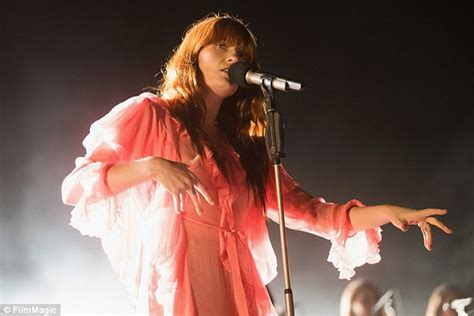 Glam Gorgeous Delight florence welch flashes bra at sasquatch festival in
