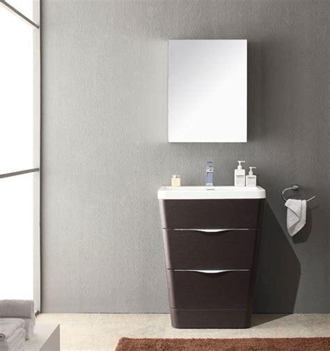 25 Inch Bathroom Vanity by Acqua 25 Inch Modern Bathroom Vanity Chestnut Finish