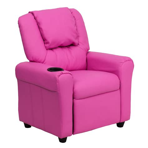 flash furniture kids recliner flash furniture dg ult kid hot pink gg contemporary hot