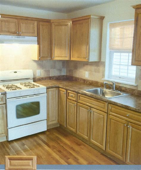 Oak Kitchen Cabinets Pre Finished Raised Panel Oak Kitchen Cabinets