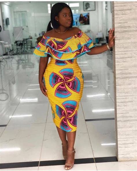 latest ankara short gown styles   wow