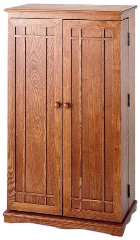 Oak Storage Cabinet Multimedia Storage Cabinet Ideas For Home Entertainment