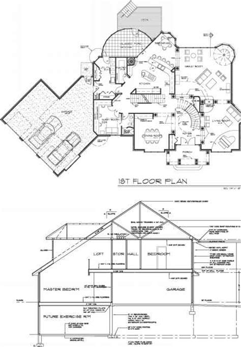types of sectioning in drawing line types construction drawings northern architecture