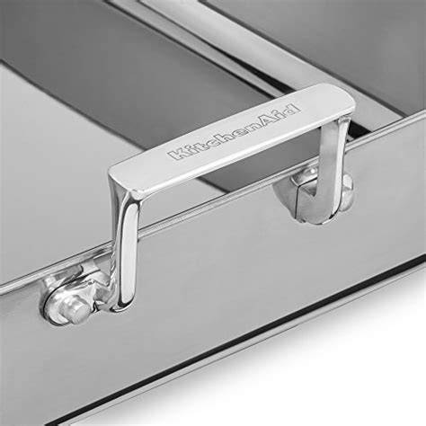 Kitchenaid Roaster With Rack by Kitchenaid Kitchenaid Kc1t16rp 16 Quot Tri Ply Stainless Steel