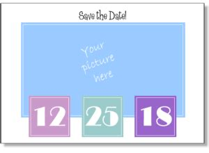 save the date powerpoint template save the date templates save the date postcards save the