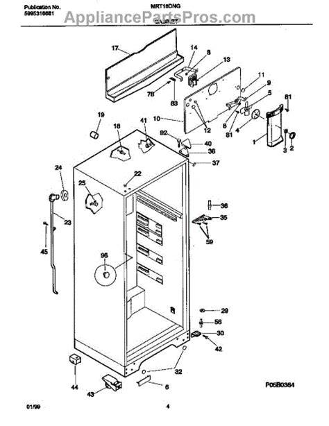 frigidaire evaporator fan motor frigidaire 5300158289 evap fan motor appliancepartspros com