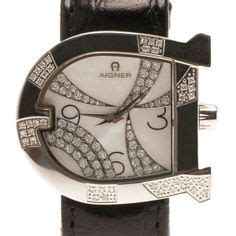 Aigner Genua Leather aigner genua bracelet steel a31622 my fav aigner watches products and