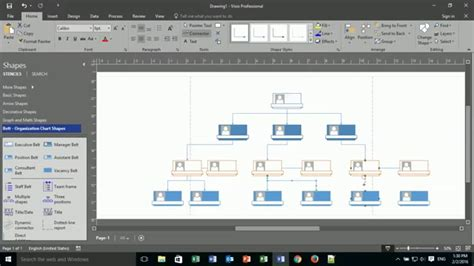 visio org chart tutorial how to create an org chart in visio 2003 visio