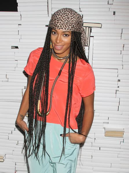 solange knowles braid hairstyles solange knowles long braided hairstyle solange knowles