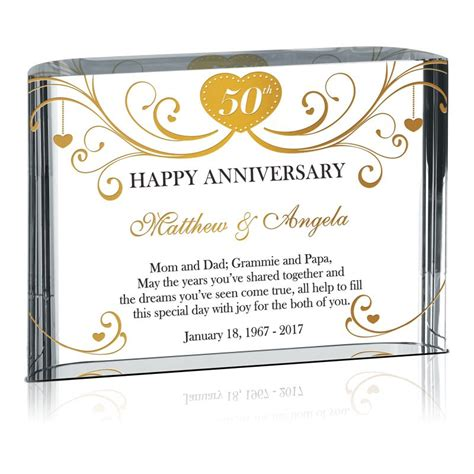 50th Wedding Anniversary Gifts Grandparents by Happy 50th Anniversary Gift For Grandparents 147 1