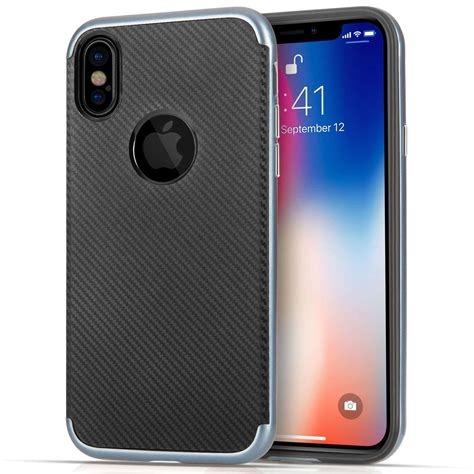 iphone x uk iphone x blue carbon fibre protective