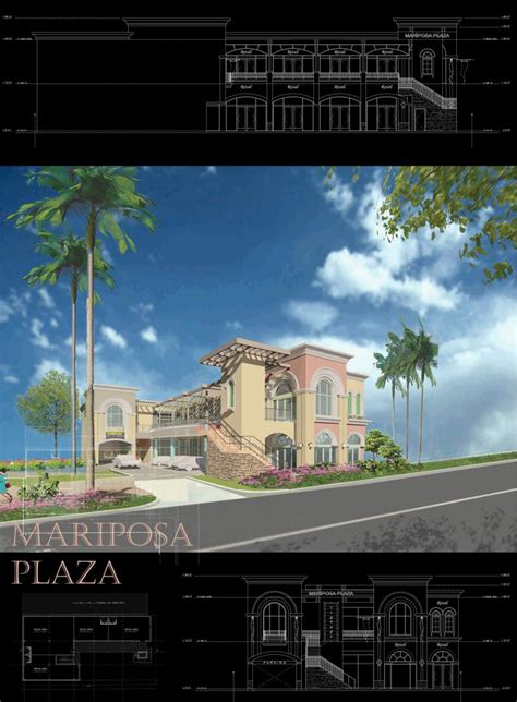 Mariposa Gardens Shopping Center by Architect Commerical