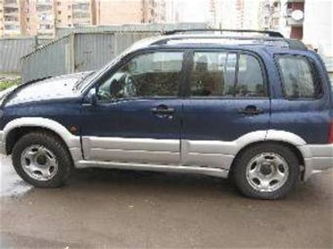 Suzuki Grand Vitara Engine For Sale 2003 Suzuki Grand Vitara For Sale 2 0 Gasoline Manual