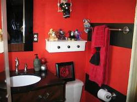 Red and black bathroom decor red and black bathroom decorating ideas red and black bathroom