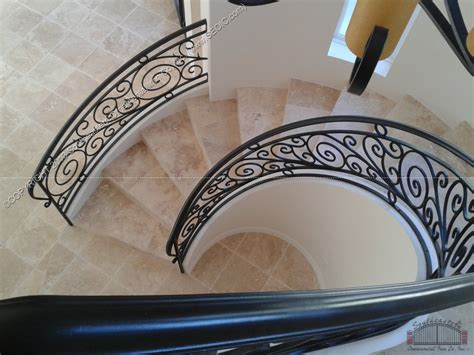 Metal Stair Rails And Banisters Wrought Iron Stair Railing 3