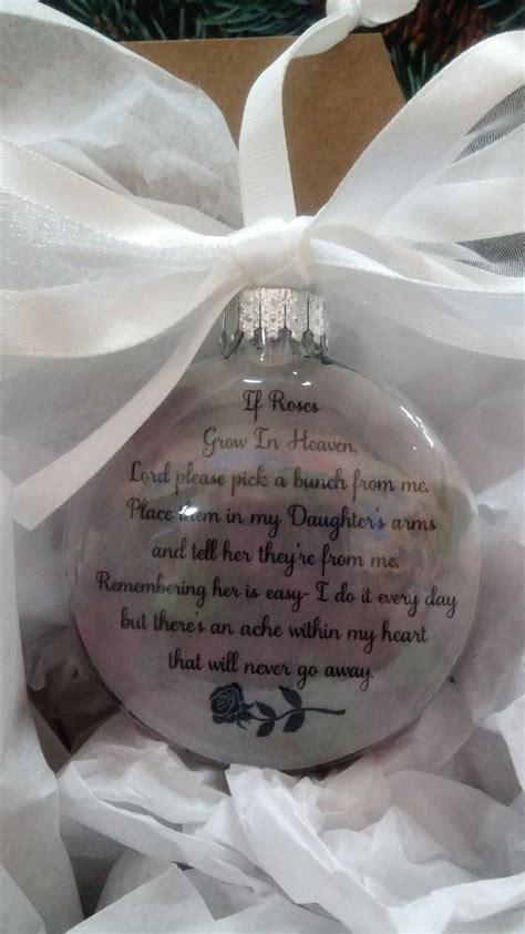 daughter memorial gift  roses grow  heaven  memory  child personaliz memorial gifts