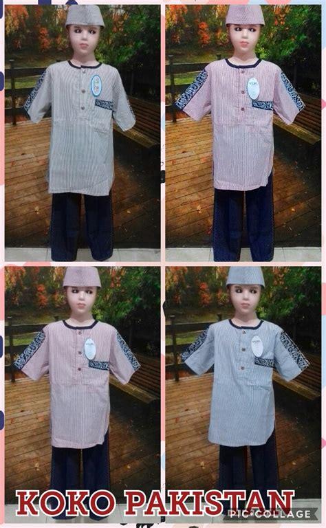Busana Baju Pakaian Gamis Anak Laki Usia 03 Terbaru Keke Kp 462 grosir baju koko pakistan anak laki laki murah surabaya 59ribu
