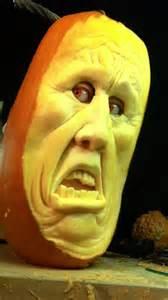 realistic 3d pumpkin carvings by food sculptor ray villafane