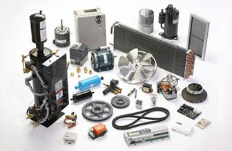 Sparepart Ac Split parts and consumables air conditioning and refrigeration