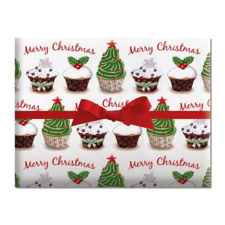 cupcake holiday gift wrap current catalog