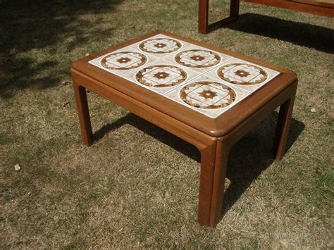 Coffee Table Retro Retro Tiled Coffee Table Coffee Table Design Ideas