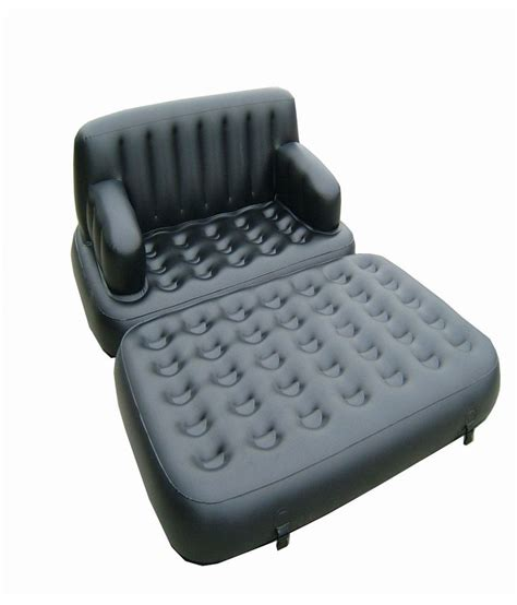 buy air sofa online videology inflatable air sofa cum bed with air pump