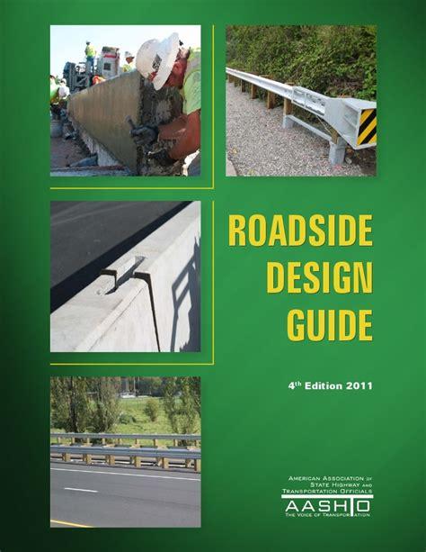 design guide aashto roadside design guide pdf free download