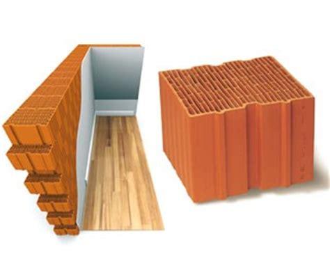 Briques Monomur Rt 2012 monomur rt 2012 au 224 de la r 233 sistance thermique