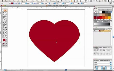 illustrator draw youtube how to draw a perfect heart in illustrator youtube