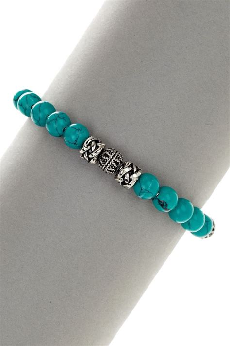 simple turquoise beaded bracelet diy bracelet ideas