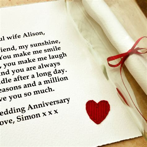 'best friend' wedding anniversary gift by jenny arnott