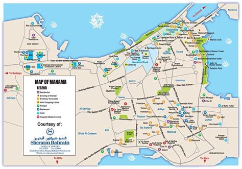 printable road map of bahrain photo manama see position of previous map port maps