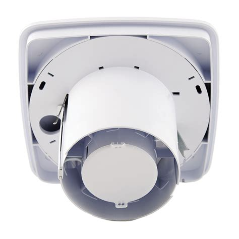 xpelair bathroom extractor fan xpelair lv100ts simply silent lv100 4 100mm square selv