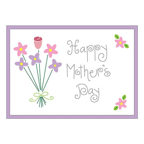 mothers day clipart mother s day bouquet clip designability
