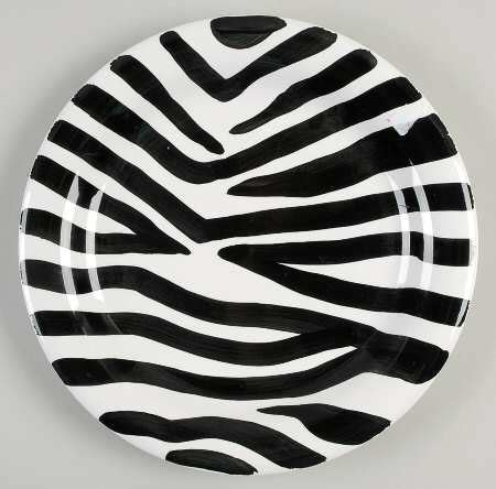 zebra pattern dinnerware tabletops unlimited zebra at replacements ltd
