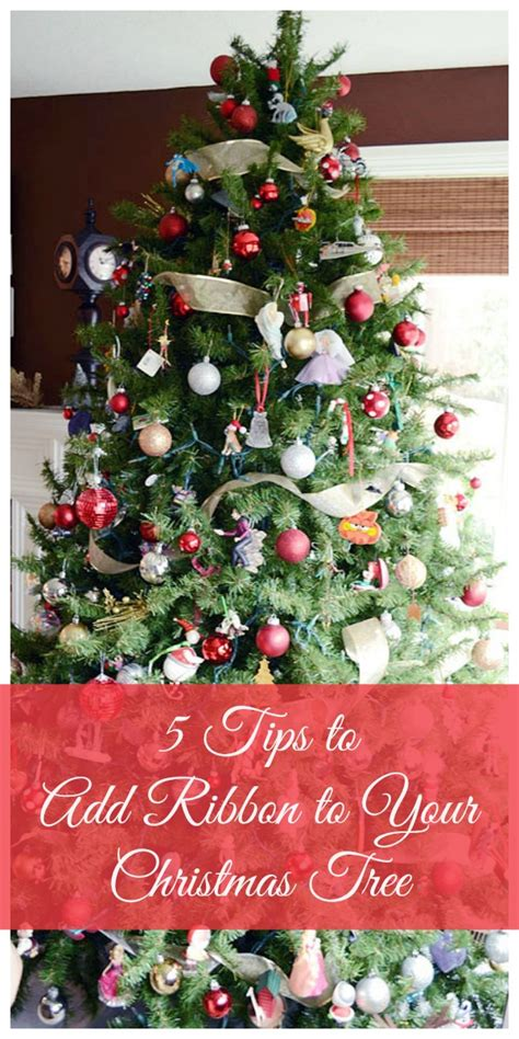 how to add ribbon to christmas tree how to add ribbon to your tree storypiece