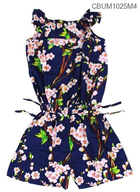 Jumpsuit Anak Size S batik m anak 3 4 th baju batik gamis batik batik