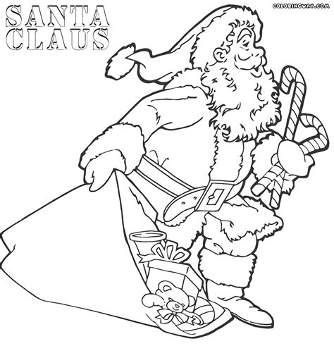 santa claus coloring pages santa claus coloring pages coloring pages to