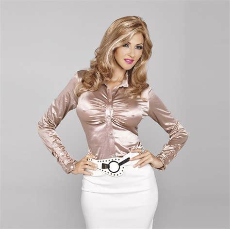 Blouse Satin Elegan satin blouse in chagne crossdressing clothing new crossdressing clothing store