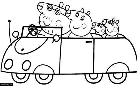 coloring pages peppa pig free coloring pages of peppa pig