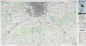 Elevation Tx San Antonio Elevation Map