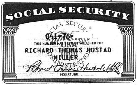 usa passport social security card