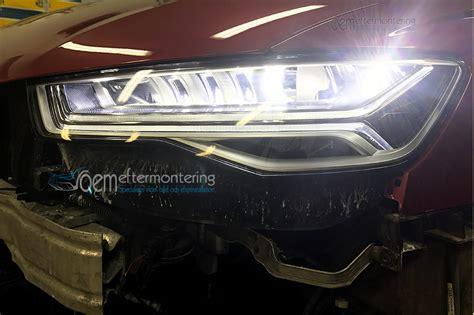 Matrix Led Audi by Projekt Audi Str 229 Lkastare Matrix Led Efterinstallera