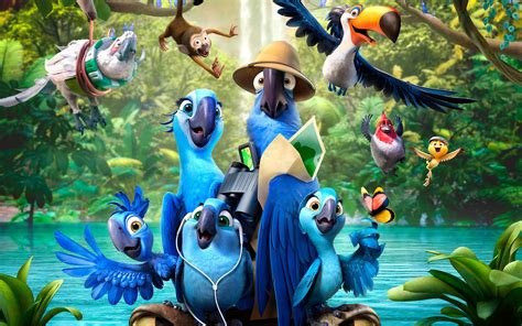 film disney rio rio 2 2014 movie hd wallpapers facebook cover photos