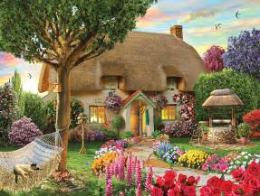 thatched cottage jigsaw puzzle puzzlewarehouse