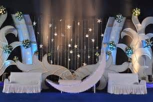 Creative Ideas For Stage Decoration by Celestial Moon Theme Wedding Stage Decoration Ideas Post