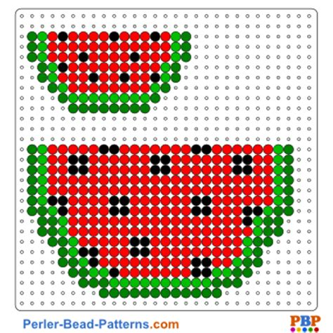 Impress Design Vorlagen Watermelon Perler Bead Pattern A Great Collection Of Free Pdf Templates For Your