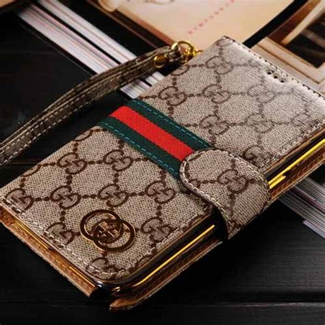 Samsung S5 Gucci Inspirated Custom gucci galaxy note 3 luxury designer wallet beige 1