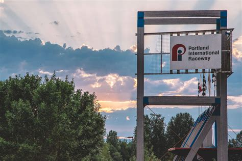 portland international speedway lights portland international raceway pictures to pin on